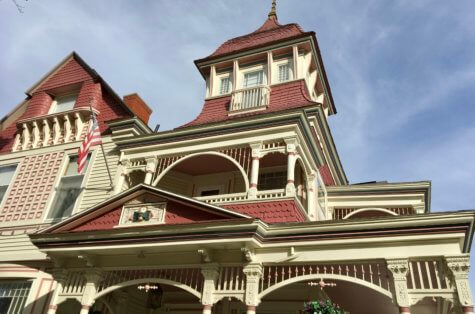 Front facade of Grand Victorian B&B