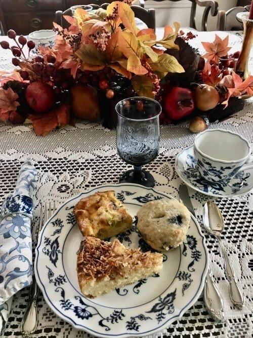 Breakfast on a plate at Dutch Colonial Inn