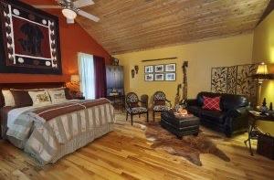 Safari Room at Sherwood Forest B&B