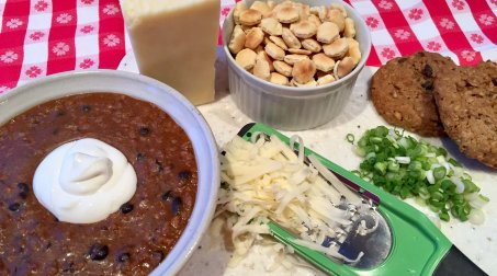 Dine In on Chili and Ice Cream