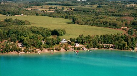 Early Bird Special at Torch Lake