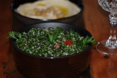 Farmhouse Tabouleh and Hummus