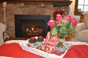 Valentines package at Maple Cove B&B