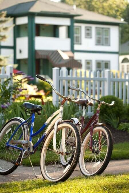 Complimentary bicycles guests enjoy at Victoria Resort.